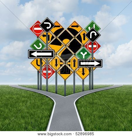 Confusing Direction Decision