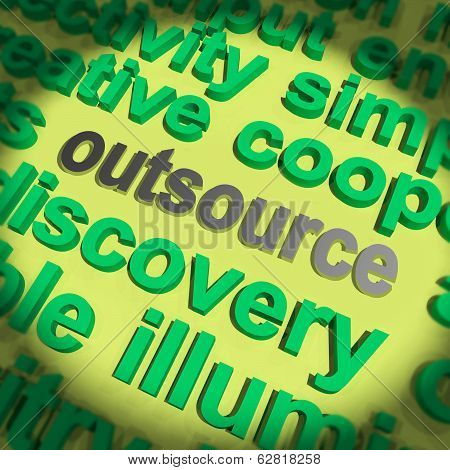 Outsource Word Means Hiring Independent Worker Or Subcontractor