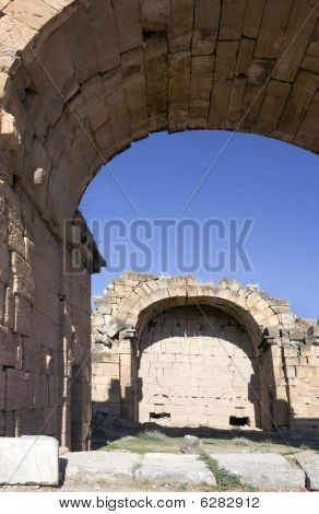 Turkey ancient ruins