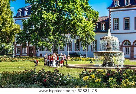 Phillipsruhe Castle in Hanau, Germany