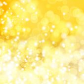 Abstract blurry yellow bokeh background eps 10 poster