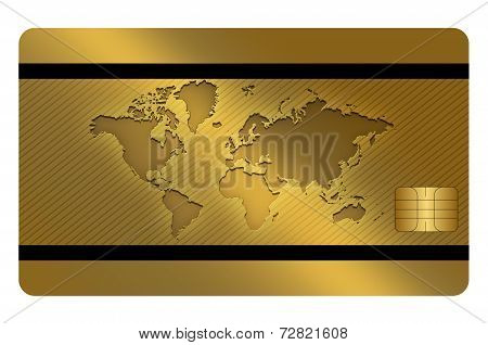 Credit Card Template.