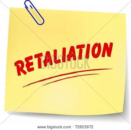 Retaliation Message