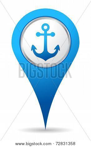 Location Anchor Icon