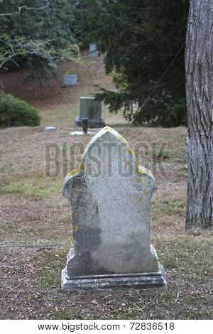 Graveyard in New England