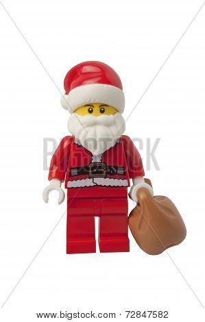 Santa Claus Lego Minifigure