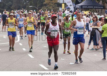 Many Runners And Spectators At Comrades Ultra Marathon