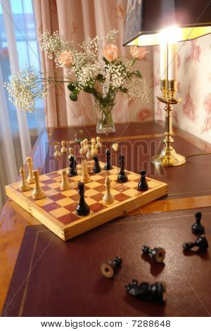 table for playing chess