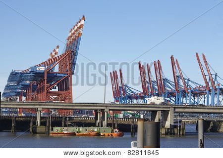 Hamburg - Container Terminals