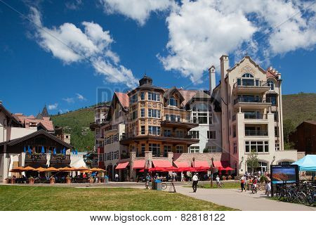 The Town Of Vail Is A Home Rule Municipality In Eagle County, Colorado.