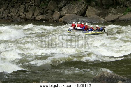 More Whitewater rafting