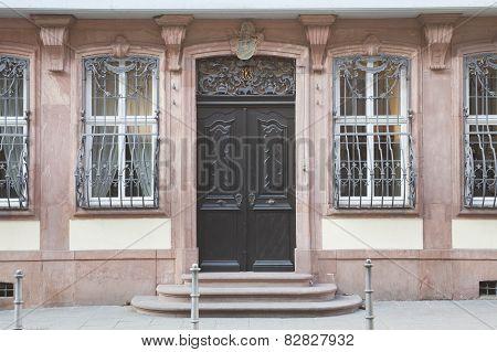Goethe House In Frankfurt