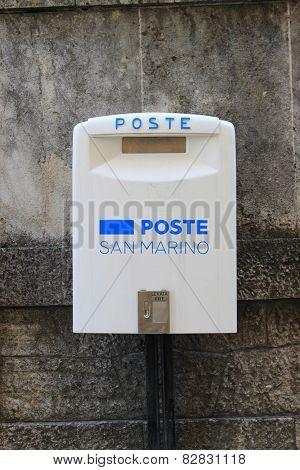 San Marino mailbox