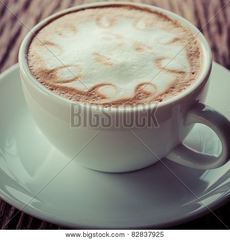 A Cup Of Vintage Coffee