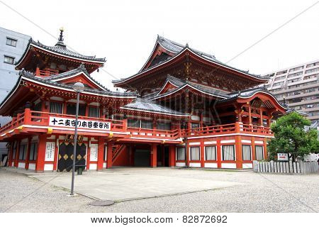 Osu Kannon temple in Nagoya city,Japan