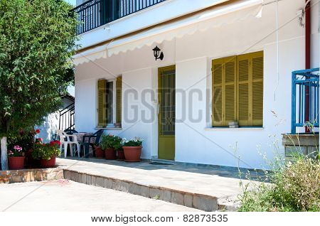 Beautiful Facade Of The House