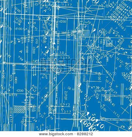 seamless vector simulating engineering blueprint