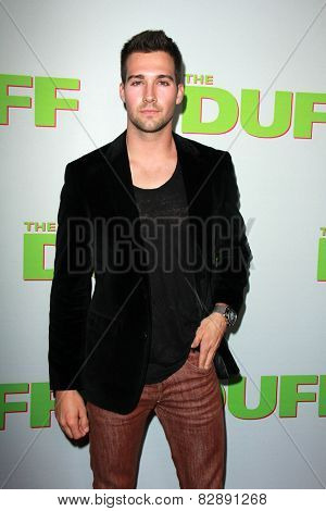 LOS ANGELES - FEB 12:  James Maslow at the