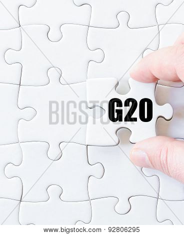 Last Puzzle Piece With Word G20