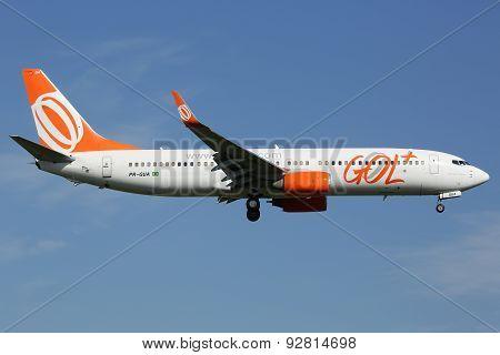 Gol Linhas Aereas Boeing 737-800 Airplane