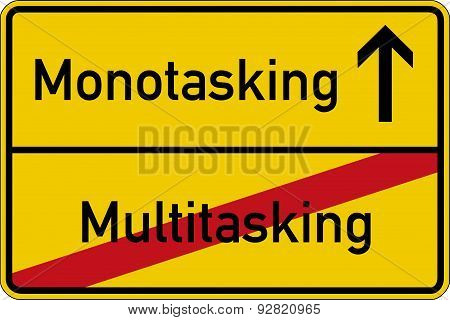 Multitasking and monotasking