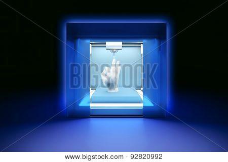 electronic three dimensional plastic printer 3D printer 3D printing