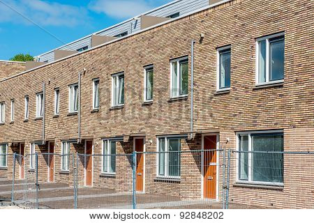 Newly Built Houses Ready For Occupation