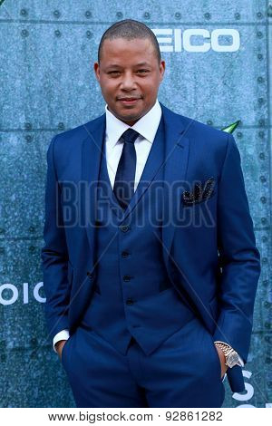 LOS ANGELES - JUN 6:  Terrence Howard at the Guys Choice Awards 2015 at the Culver City on June 6, 2015 in Sony Studios, CA