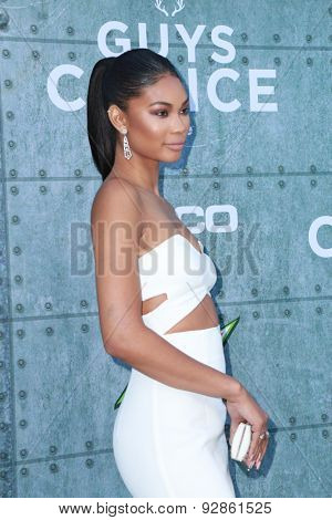 LOS ANGELES - JUN 6:  Chanel Iman at the Guys Choice Awards 2015 at the Culver City on June 6, 2015 in Sony Studios, CA