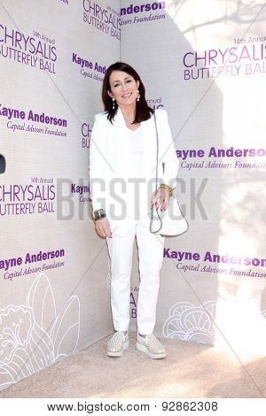 LOS ANGELES - JUN 6:  Patricia Heaton at the 14th Annual Chrysalis Butterfly Ball at the Private Residence on June 6, 2015 in Los Angeles, CA