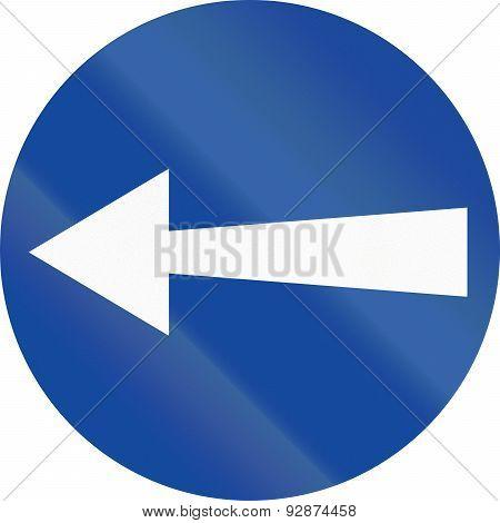 Turn Left In Greece