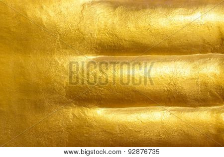 Texture or background blank gold.