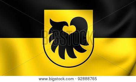 Flag Of The Aldrans, Austria.