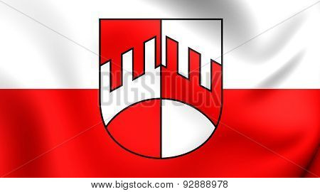 Flag Of The Iselsberg-stronach, Austria.