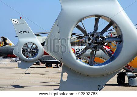 Eurocopter EC120 Colibri tail rotor fan