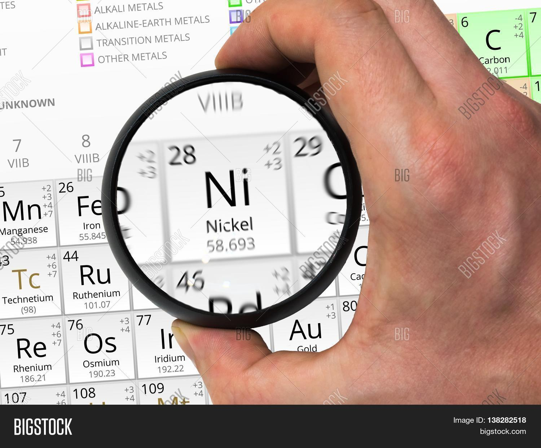 Nickel Symbol Ni Image Photo Free Trial Bigstock