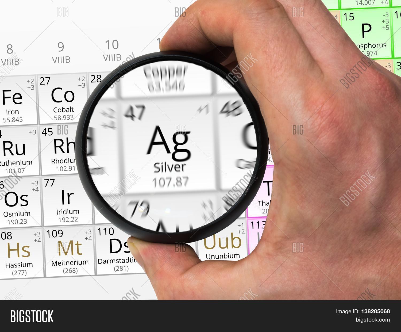 Silver Symbol Ag Image Photo Free Trial Bigstock