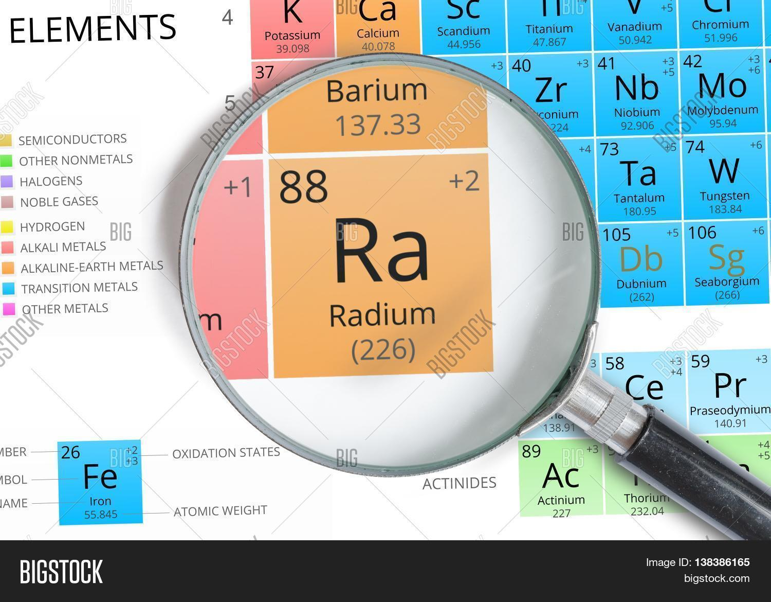 Radium symbol ra image photo free trial bigstock radium symbol ra element of the periodic table zoomed with ma urtaz Gallery