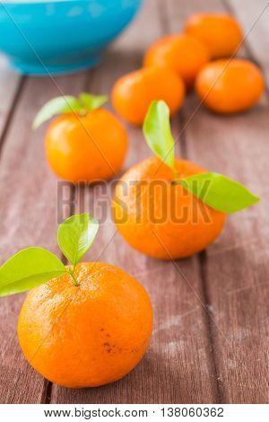 Fresh citrus fruits orange on wooden, Healthy food.