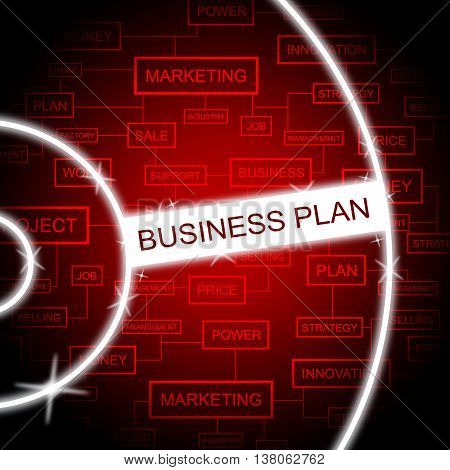 Business Plan Represents Programme Formula And Proposals