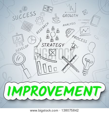 Improvement Ideas Shows Consider Reflection And Upgrading