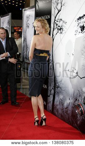 Amber Valletta at the Los Angeles premiere of 'Premonition' held at the Cinerama Dome in Hollywood, USA on March 12, 2007.