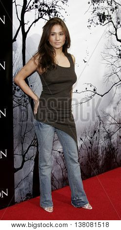 Yvette Lopez at the Los Angeles premiere of 'Premonition' held at the Cinerama Dome in Hollywood, USA on March 12, 2007.