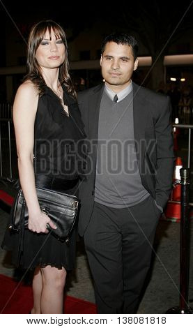 Michael Pena at the Los Angeles premiere of 'Shooter' held at the Mann Village Theatre in Westwood, USA on March 8, 2007.