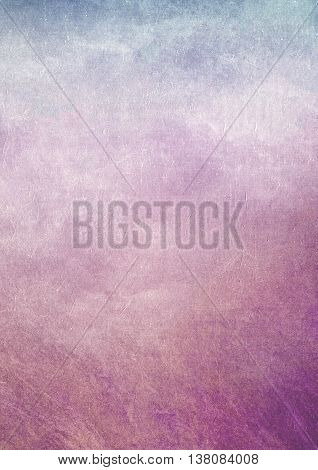 Blue And Purple Graident Dirty Grunge Effect Textured Background
