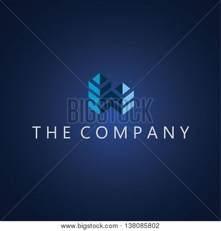 building logo  ideas design vector on background