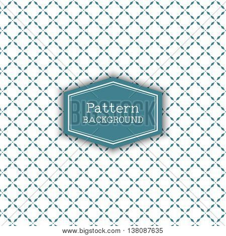 Decorative background with a diamond pattern