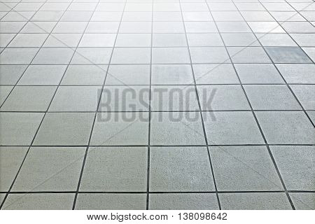 Bright Slate Floor With Front Light
