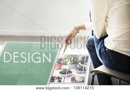 Be Raw Creative Design Ideas Concept