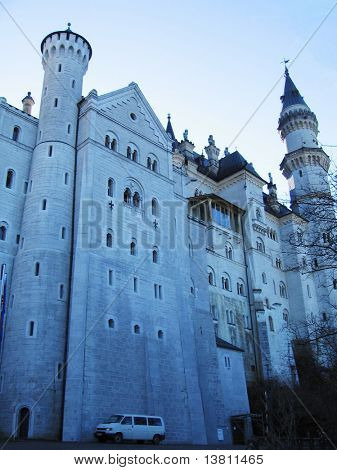 Arshitecture Neuschwanstein castle